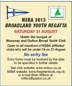 Broadland Youth Regatta 31 August 2013