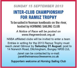 Ramuz Trophy 15 September 2013